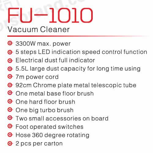 جاروبرقی فوما مدل fuma-FU-1010