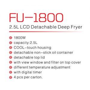 سرخ کن فوما مدل fu-1800