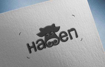 طراحی لوگو شرکت هه وین