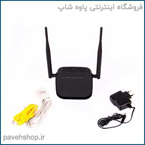 مودم روتر N300 بی سیم ADSL2+ دی-لینک مدل DSL-124